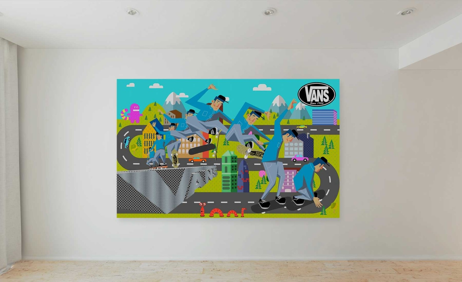 ilustracion-vans-freelance-barcelona